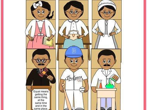 Black History Month Paper Bag Puppets