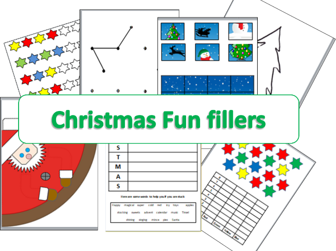 Fun Christmas Fillers