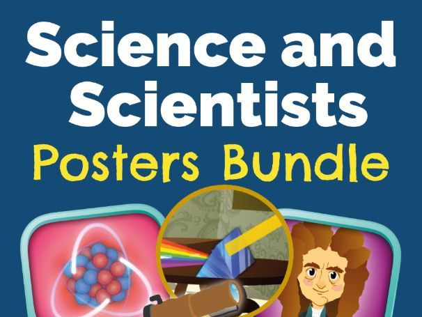 Science and Scientists Posters Bundle