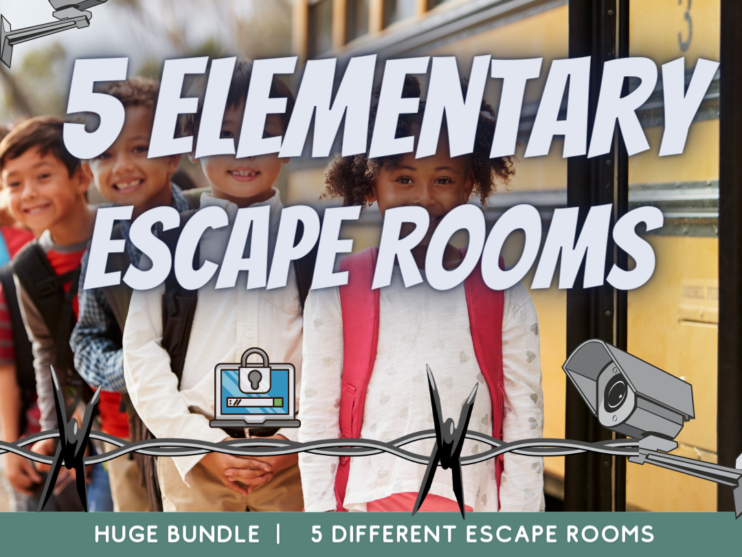 Escape Room End of Term Primary