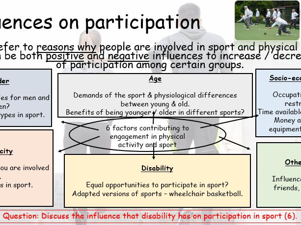 GCSE PE - Live Lessons - Health & Performance (Edexcel)
