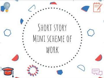 Short story mini scheme of work #shortstory #SOW
