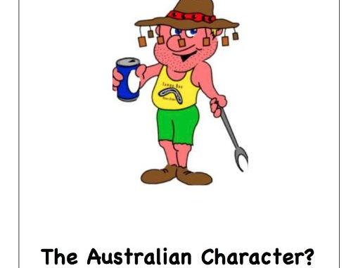 The Australian character?