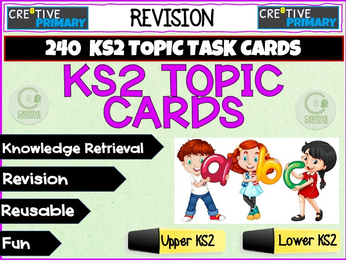 Primary Task Cards