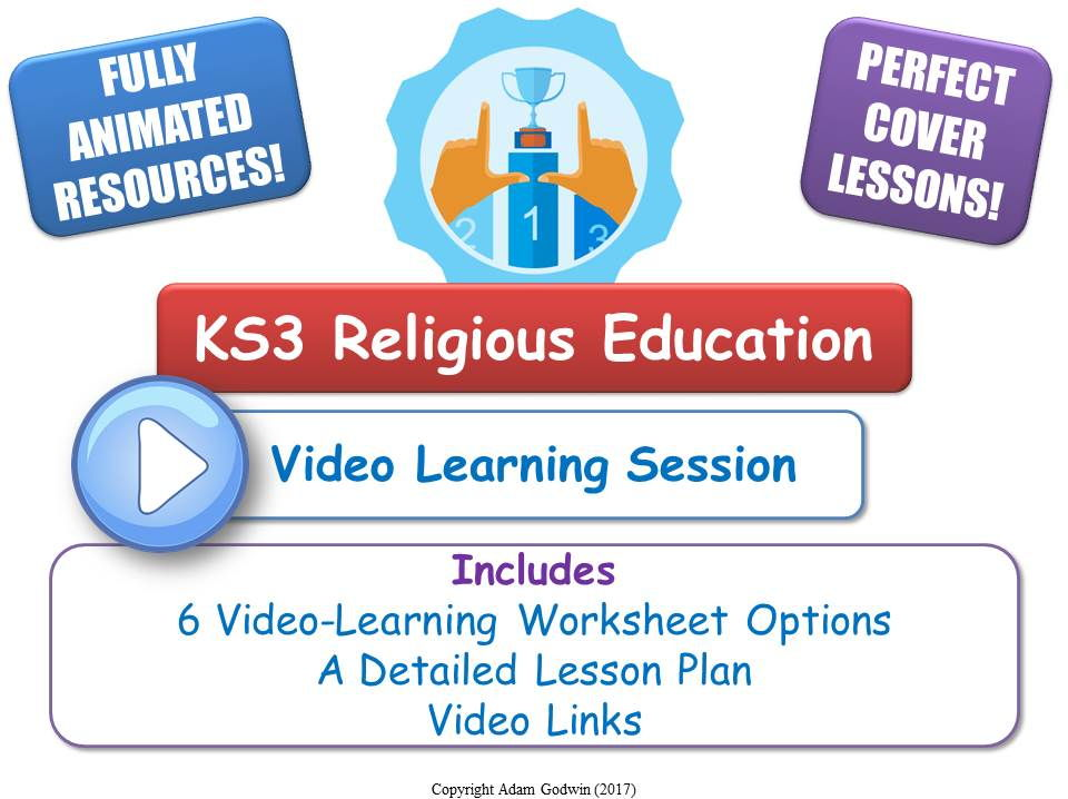KS3 Buddhism - The Eightfold Path [Video Learning Session]