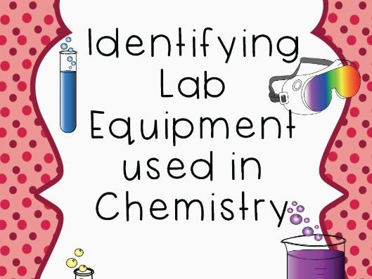 Identifying Chemistry Lab Equipment activity