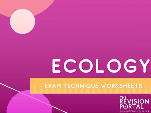 Ecology Exam Technique