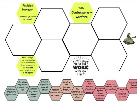 Modern warfare Revision hexagons