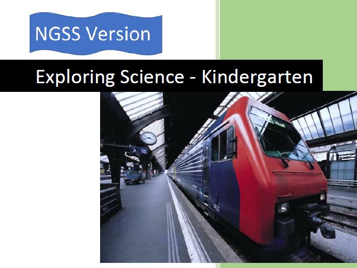 NGSS Kindergarten Text