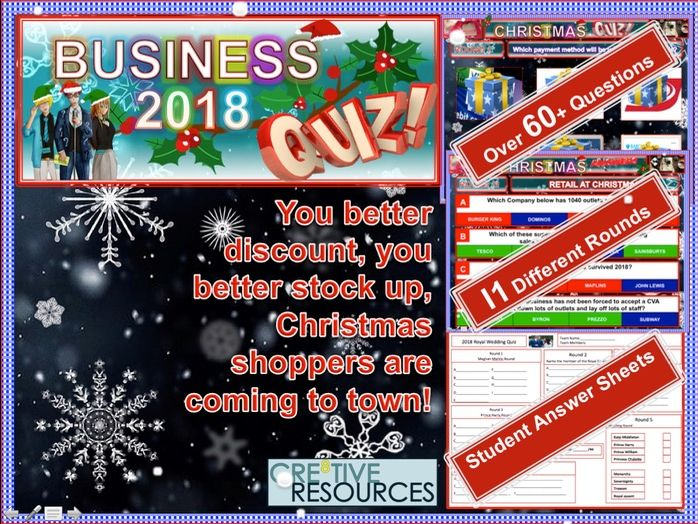 Business Christmas Quiz