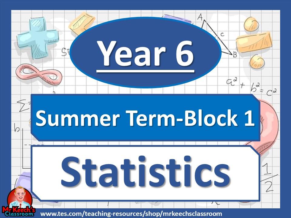 Year 6 - Statistics - Summer Block 1 - White Rose Maths