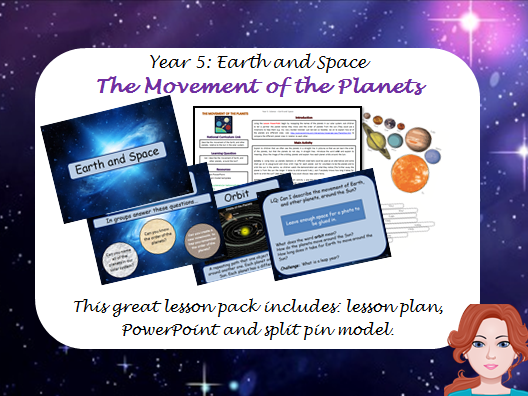 Year 5 - Space and Earth: The Movement of Planets