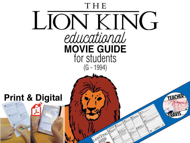 The Lion King Movie Viewing Guide