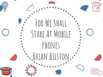 For We Shall Stare at Mobile Phones - Brian Bilston #poetry #emojis #fun