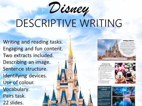 Disney Descriptive Writing