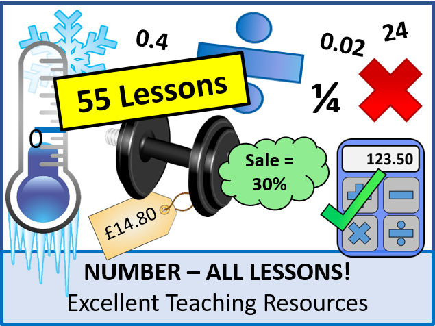 Number: ALL Lessons (53 Lessons) + Lots of Resources