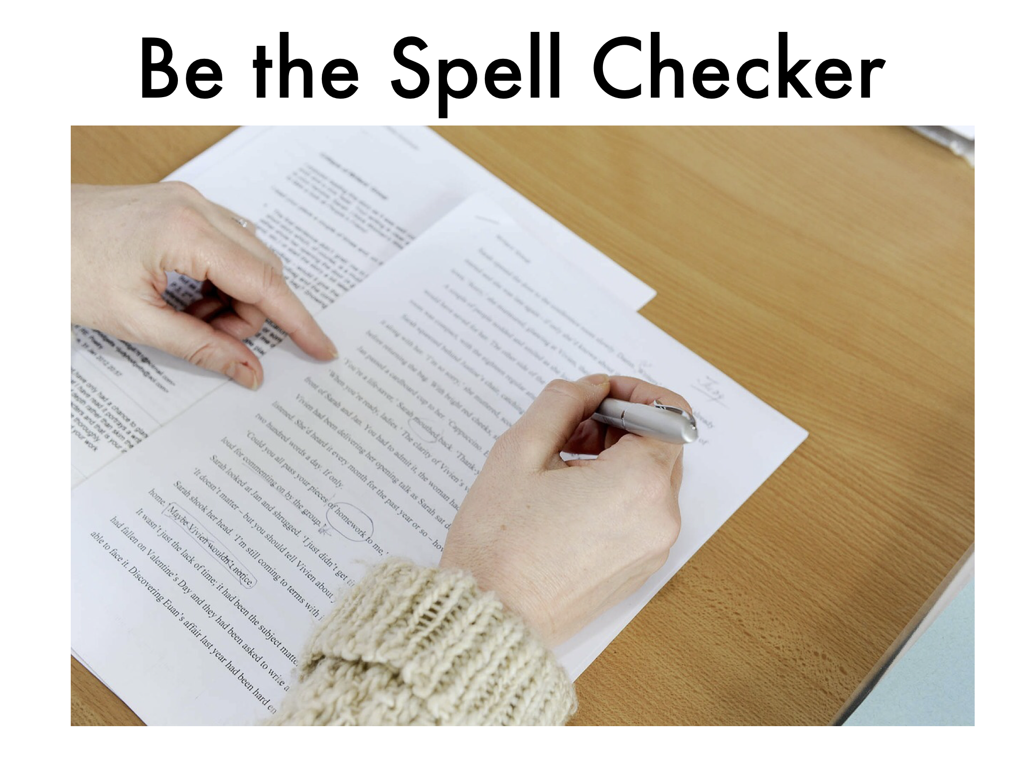 Be the Spell Checker! Bundle
