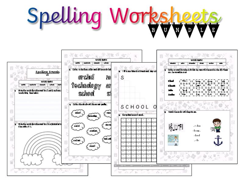 Spelling Revision Worksheets (Y1-6)