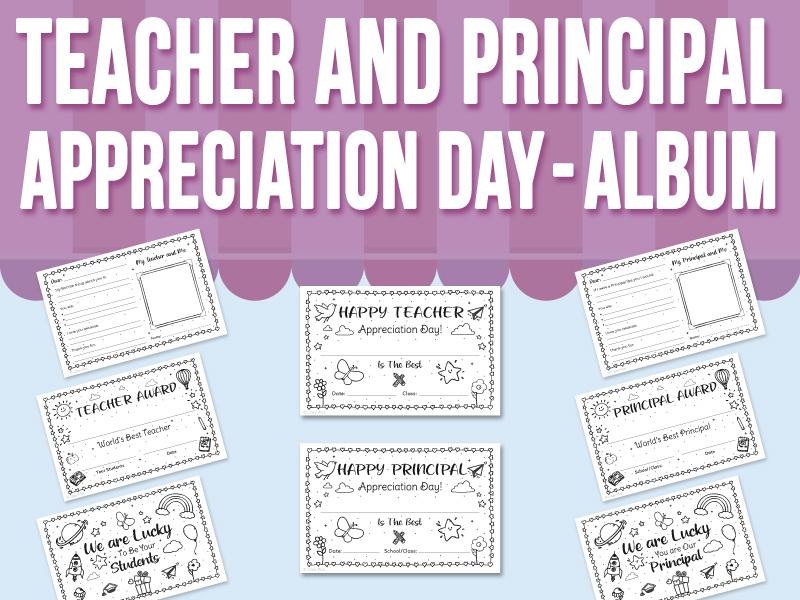 Teacher and Principal Appreciation Day - Album