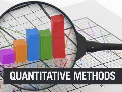 Quantitative Methods