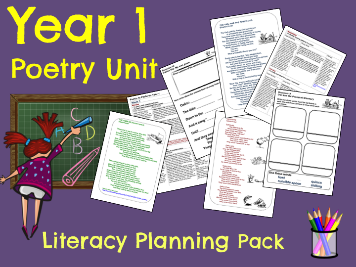 Year 1 Poetry