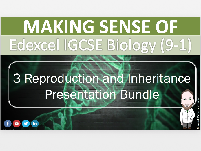 Section 3 Presentation Bundle - IGCSE Biology 9-1