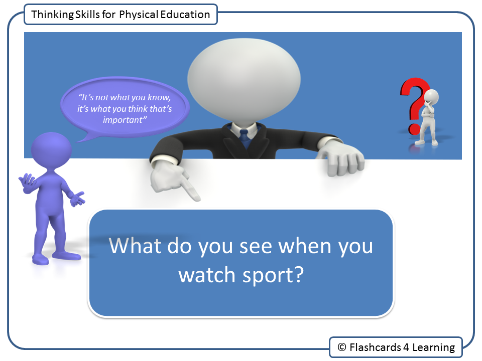 Thinking Skills for Physical Education