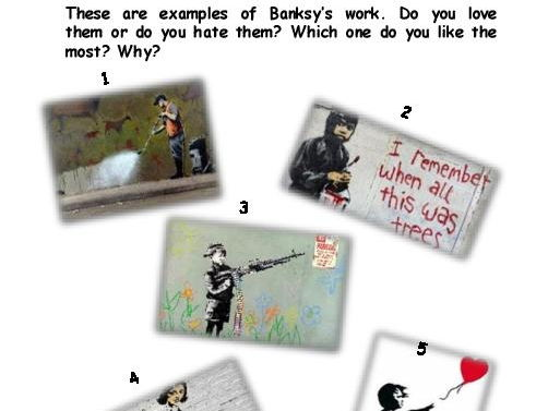 Banksy, love him or hate him !