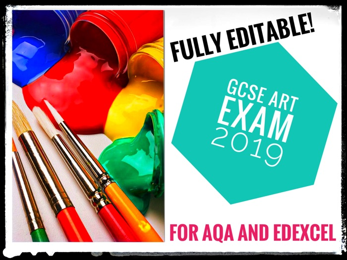 ART. GCSE ART EXAM 2019. Component 2 Step by Step Guide.