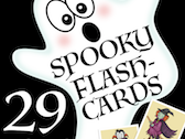 Halloween Flash Cards English, poster, ESL flashcards for culture and language studies, vocabulary