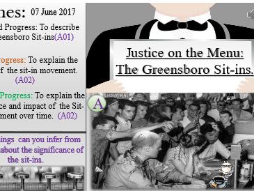 American Civil Rights: Greensboro Sit-in Movement.