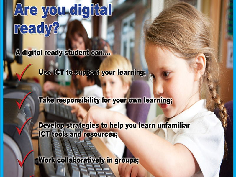 Are you digital ready? Primary Classroom poster