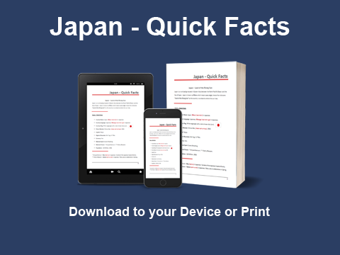 Japan - Quick Facts