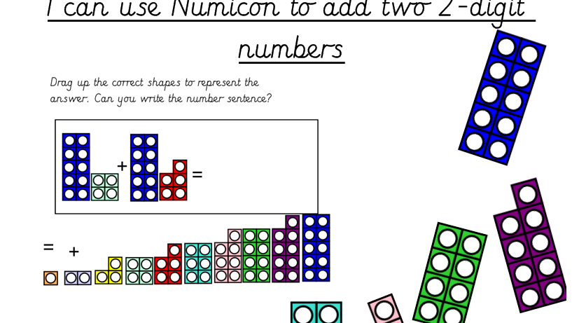numicon adding two 2 digit numbers by missjg133 teaching resources. Black Bedroom Furniture Sets. Home Design Ideas