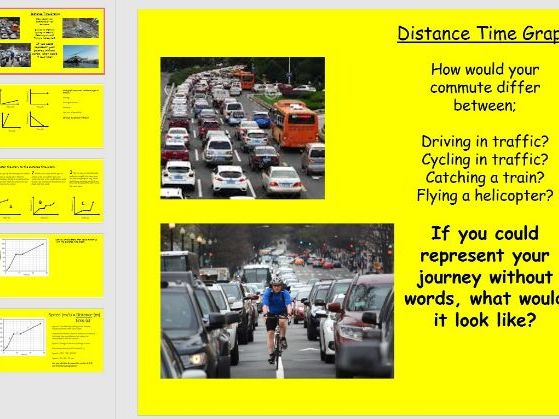 Distance Time graphs AQA GCSE - PPT