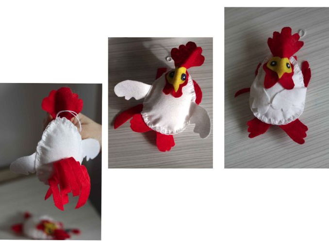 Chinese New Year - Colin the Cockerel