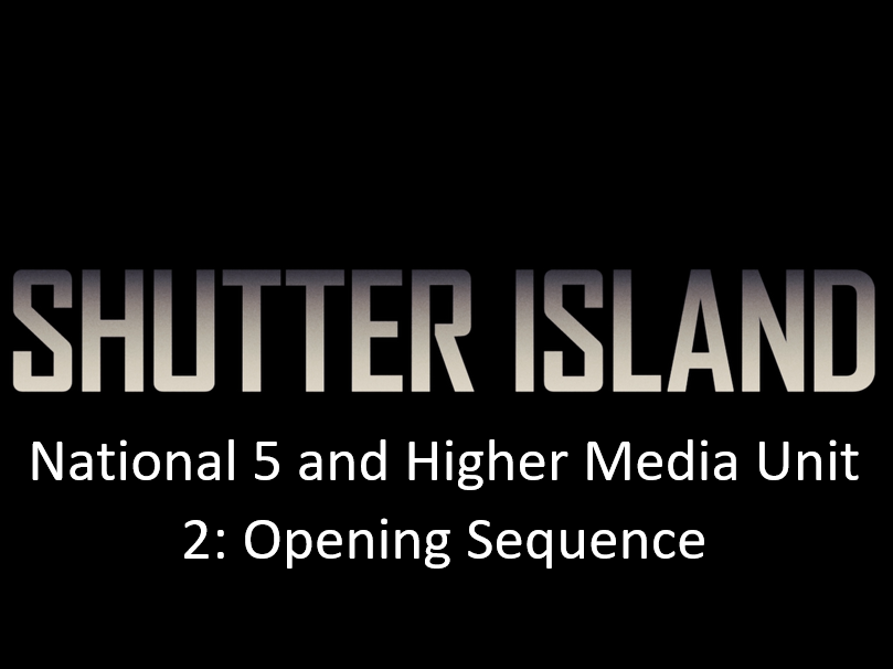 Shutter Island - Lesson: The Opening Sequence Deconstruction