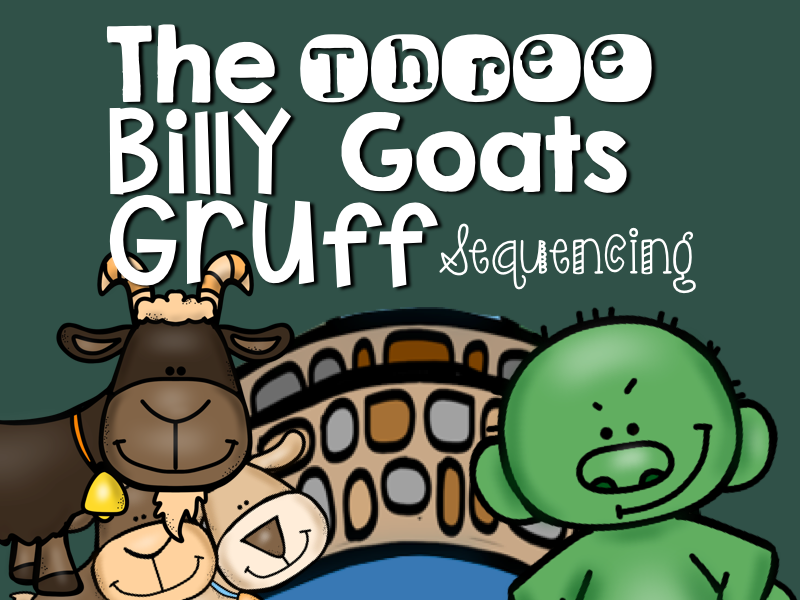 The Three Billy Goats Gruff: Story Sequencing with Pictures by ...