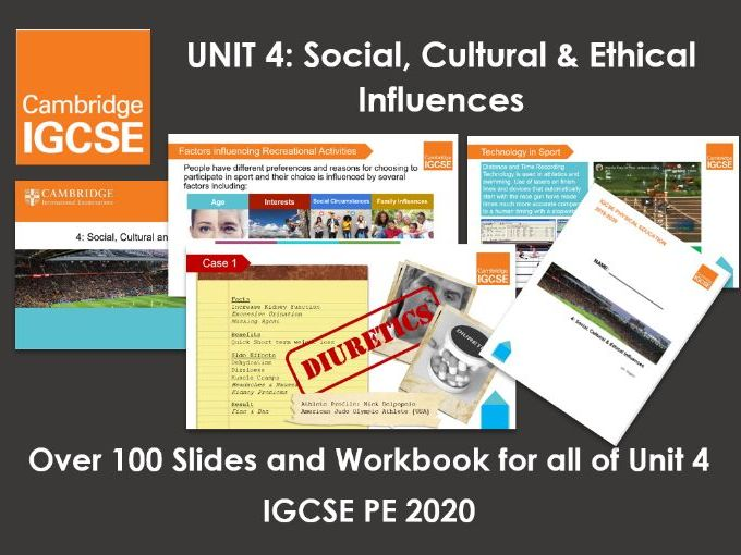 Complete Unit 4: Social, Cultural & Ethical Influences - IGCSE Physical Education
