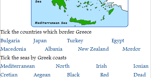 Geography of Greece Lesson (powerpoint and worksheet)