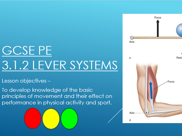 AQA GCSE PE - Levers, planes and axes