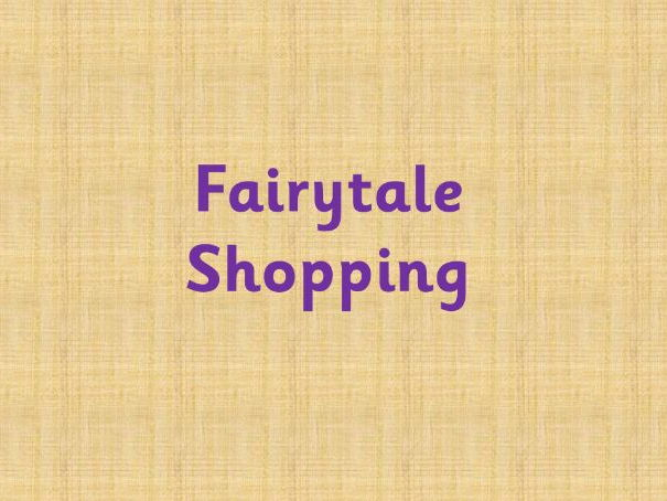 Fairytale shop price list