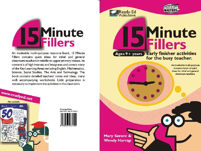 Supply Teaching: 15 Minute Fillers