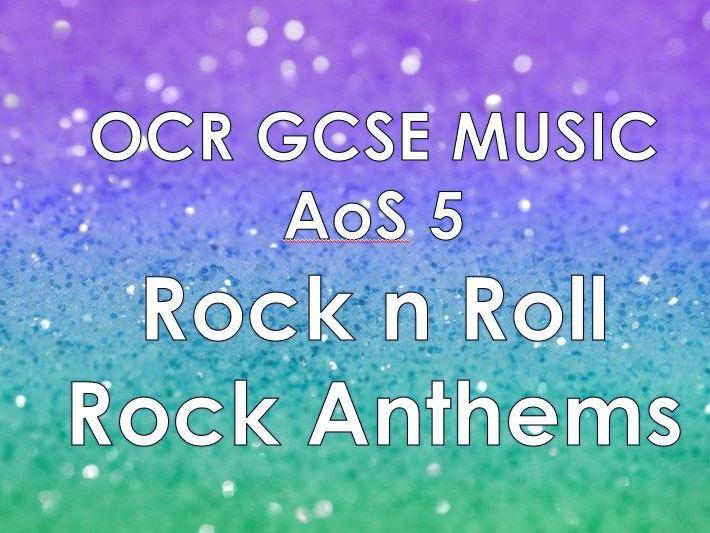 OCR Music AoS5 - Rock n Roll / Rock Anthems