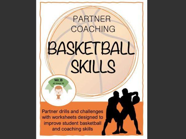 Basketball Skills Stations - Partner Coaching
