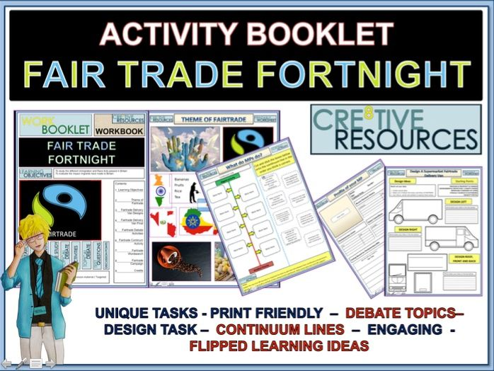 Geography Fairtrade Work From Home Booklet