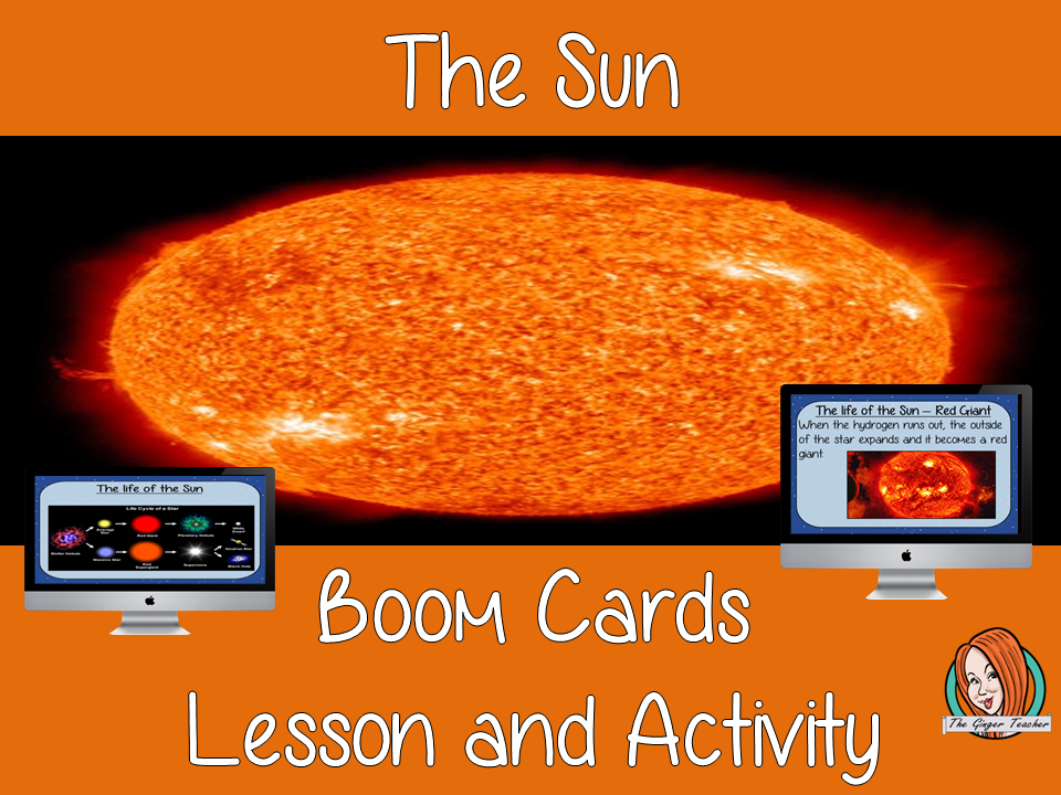 The Sun - Boom Cards Digital Lesson