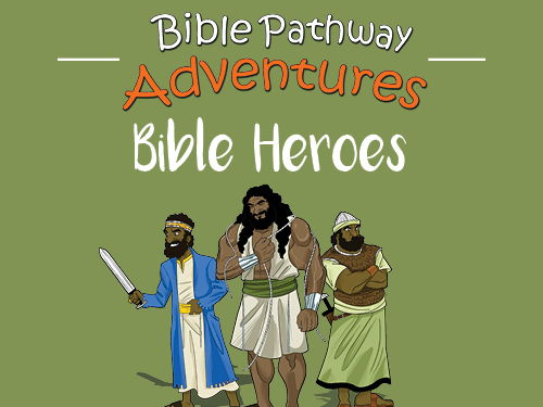 Bible Heroes Quiz Activity Book