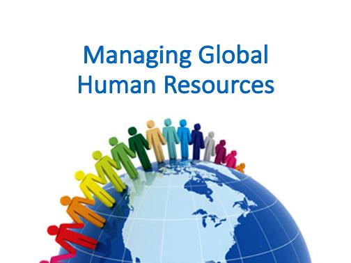 Managing Global Human Resources – Human Resource