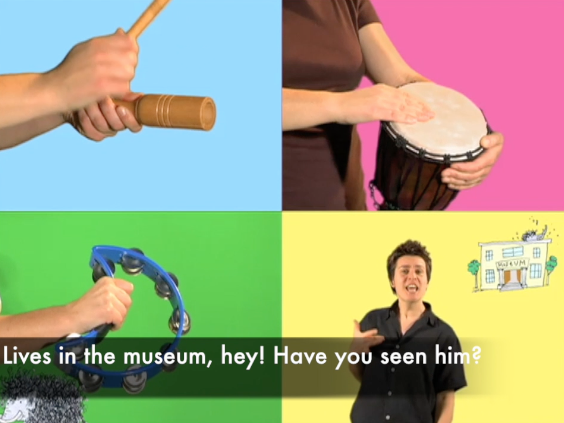 The Dinosaur Dance - KS1 song for your Dinosaur Topic with video, makaton & simple percussion